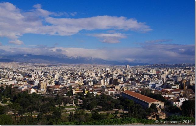vue sur Athènes depuis Pnyx